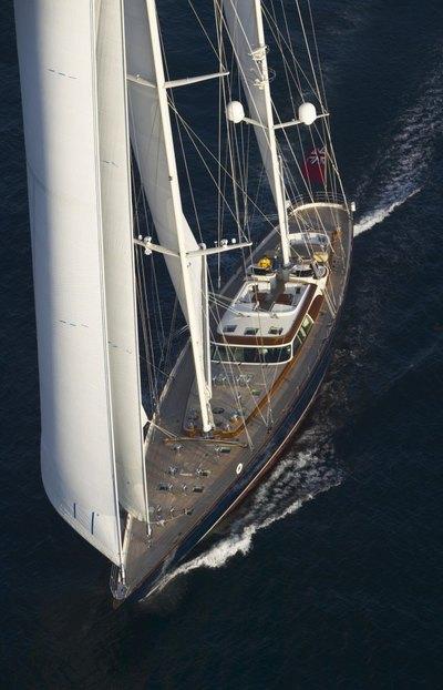 Asolare Yacht Overhead