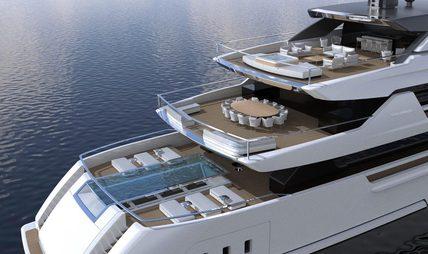 Cloud 9 Yacht Charter Price Sanlorenzo Luxury Yacht Charter