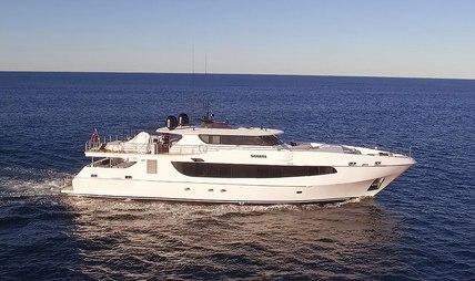 Sahana Charter Yacht
