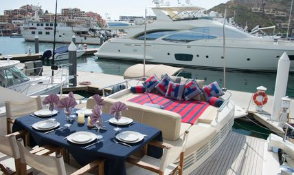 Grey Charter Yacht
