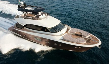 Esmeralda of London Charter Yacht