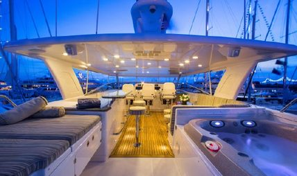 Fully Occupied Charter Yacht - 3