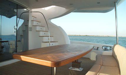 Majesty 88 Charter Yacht - 5