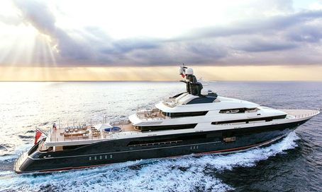 Megayacht TRANQUILITY (ex-Equanimity) joins the yacht charter fleet
