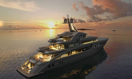 First look inside brand new charter yacht SOARING