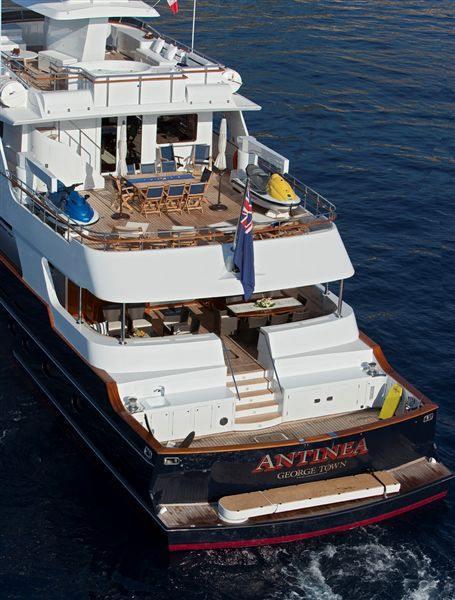 Luxury Yacht Engine Room: L'ALBATROS Yacht Charter Price