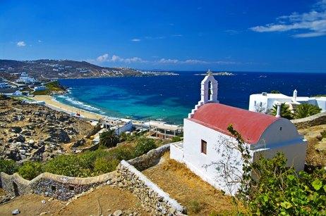 Mykonos to Athens