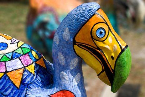 Dodo made by artist Vaco