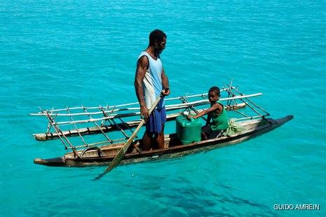 Melanesian people of Papua New