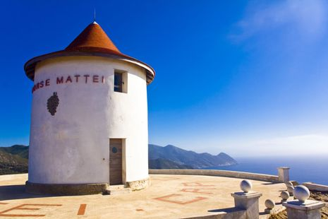 Breathtaking views from Windmill in Cap Corse