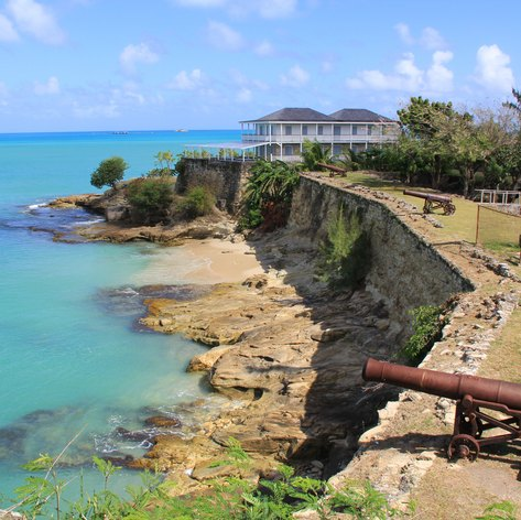Visit the Sole Remaining Cannon at the Fort James