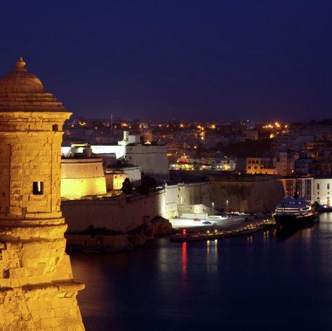 Enjoy Valletta's Grand Harbour at Night
