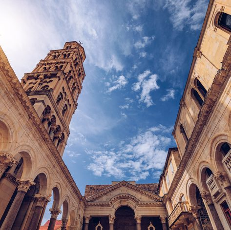 Stand in Awe of Diocletian's palace