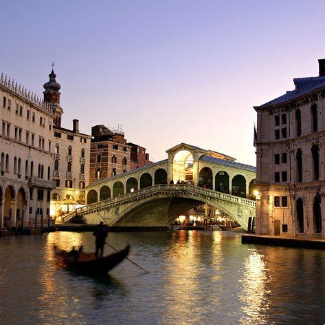 Venezia at the evening