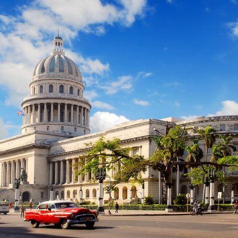 The Monumental Capitolio Building in Havana