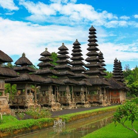 Taman Ayun Royal Temple in Bali