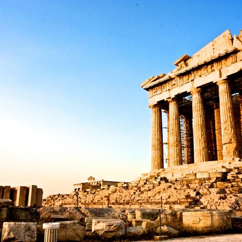 The Ancient Acropolis of Athens