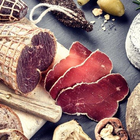 Enjoy traditional French menus