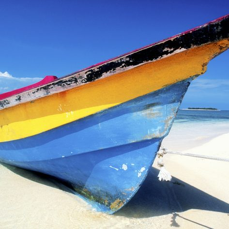 Fishing Boat on Grand Anse, Grenada