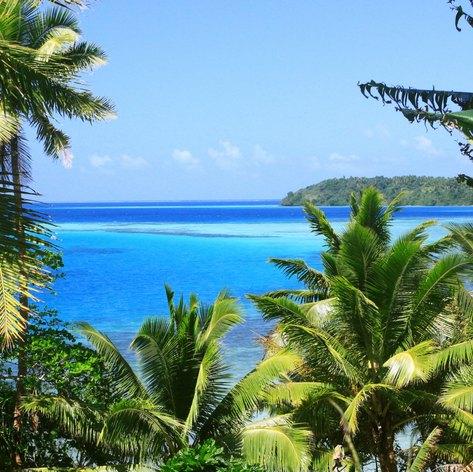 Natural Fiji scenery