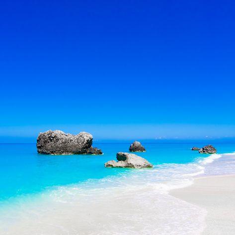 White Sands of Elafonisos Beach
