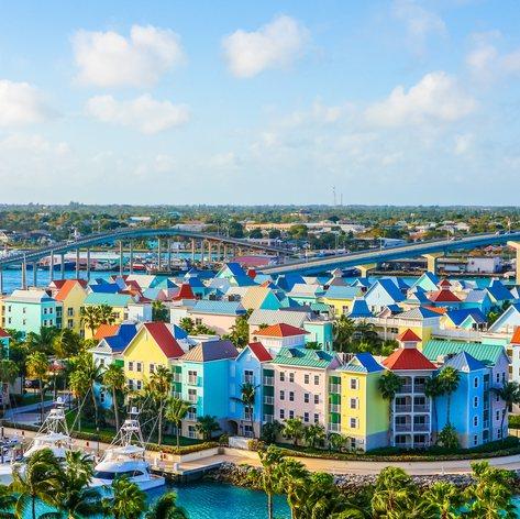 A unique and colourful architecture