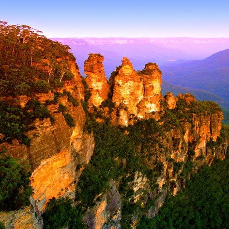 View of a part of National Park in New South Wales