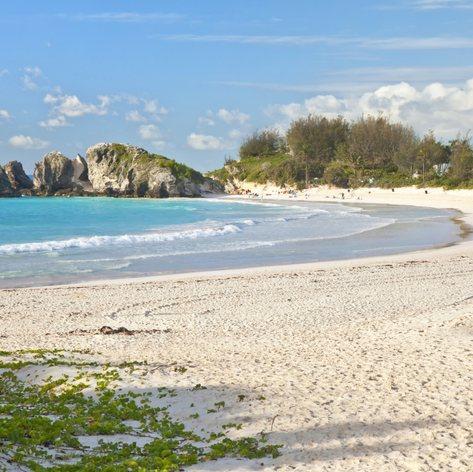 Quiet and beautiful sandy beach
