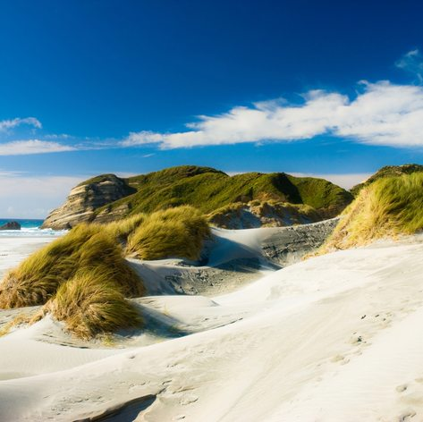 Enjoy 90 Miles of Soft White Sand at Cape Reinga