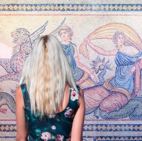 See the Gaziantep Zeugma Mosaic Museum