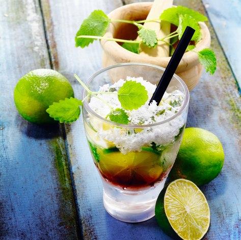 Traditional Cuban Libre Drink