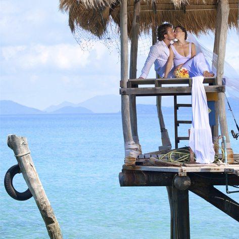 An island wedding celebrated in Cuba