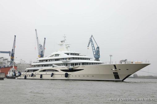 Superyacht Lady Gulya ex TIS