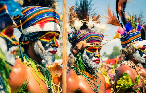 tribal community in papua new guinea