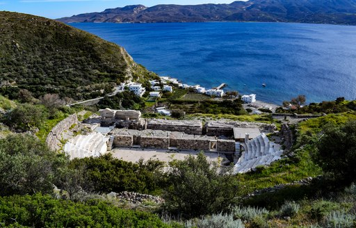 Ancient theatre in Greece