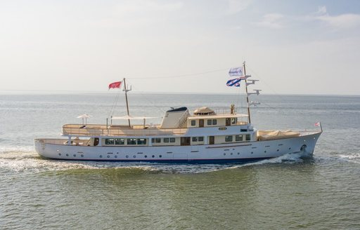 Classic motor yacht ISTROS set to join charter fleet following rebuild photo 4