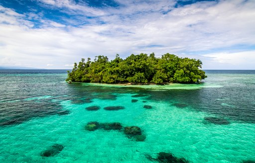 isolated island in the south pacific