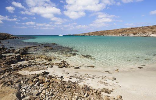 rineia greece beach
