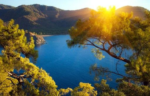 Cirali Turkey sunrise