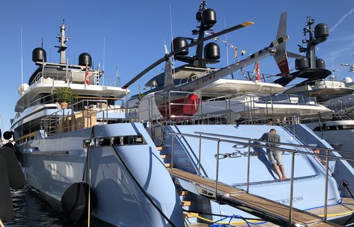 Live photos: Final preparations for the Monaco Yacht Show 2018 photo 2