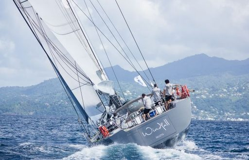 S/Y Windfall came second in the RORC Transatlantic Race 2014