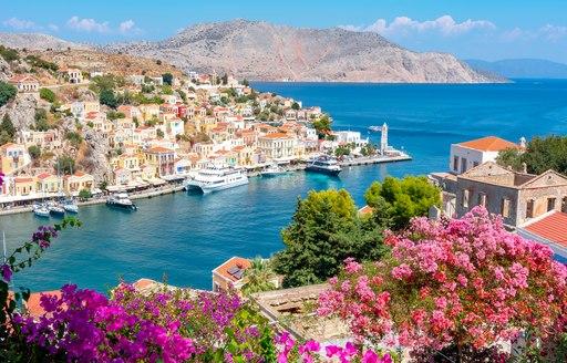 view of symi greece