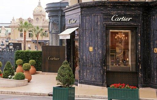 cartier shop in monaco