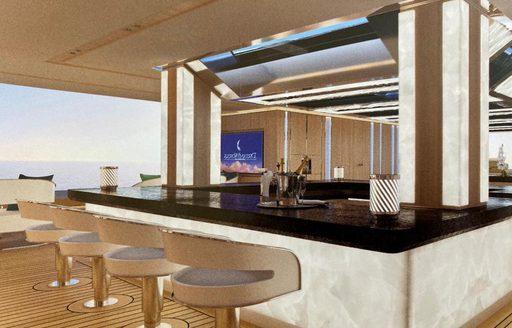 cosmos yacht beach club bar