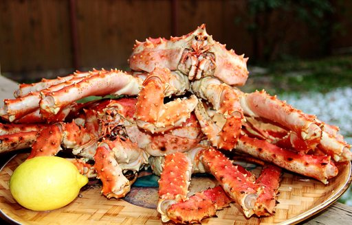 King crab from Kamchatka