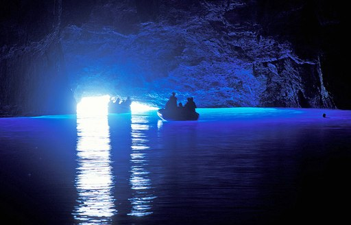 5 amazing blue caves you have to visit during a Greece superyacht charter  photo 4