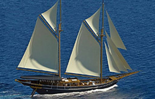 sail in south east asia on a luxury yacht charter