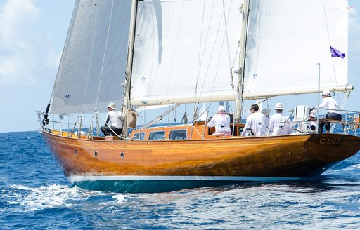 Chase the race: why you have to charter at The Antigua Classic Yacht Regatta photo 10