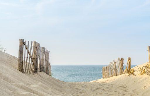 sandy beach in cape cod
