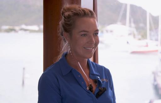 Chief Stewardess Francesca Rubi